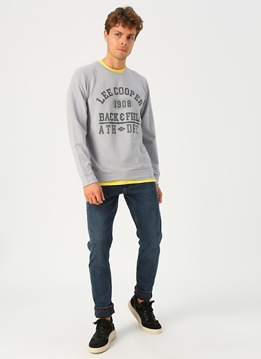 Lee Cooper Sweatshirt Gri